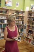 Pamela reading at Union Ave Books