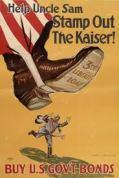 Typical World War I propaganda poster