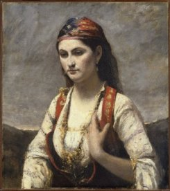Corot inspires Irma of When We Were Strangers