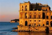 Palazzo Donn'Anna, Naples, in Swimming in the Moon