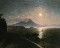 Vesuvius as Lucia and Teresa would have seen it Swimming in the Moon