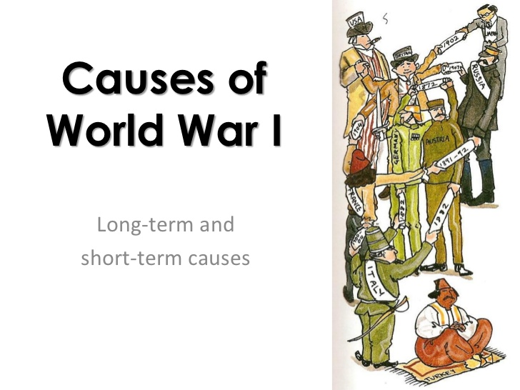 essays on causes of world war one An essay or paper on the six major causes of world war ii out of all the wars that the world has gone through, none has been more devastating as world war ii but.
